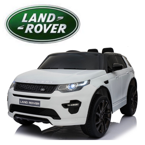 12V Licensed Land Rover Discovery HSE Sport White Free Delivery
