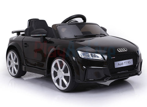 12V Licensed  Audi TT RS Black