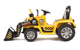 12v R/C Twin Motor Tractor Yellow
