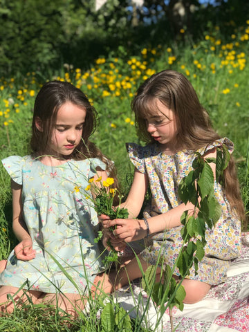 We sent the girls a Wild Cherry Tree to plant their wishes for the future.