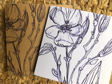 MAGNOLIA SEED GREETING CARD