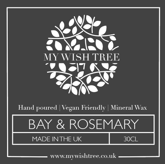 BAY & ROSEMARY 30CL CANDLE