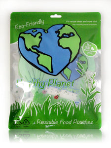 Reusable Food Pouch - 6 pack