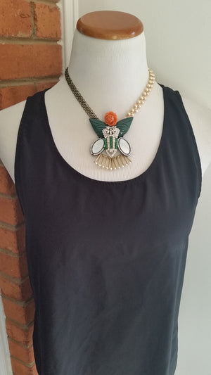 Mid Length Vintage Garden Necklace by Chloe and Isabel