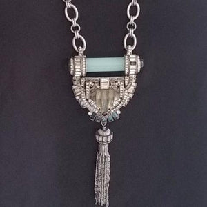 Art Deco Necklace by Chloe and Isabel with Removable Tassel