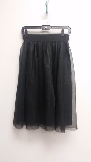 Black Midi Toulle Skirt (One Size)