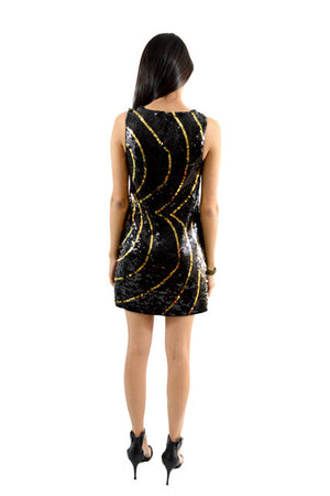 For sale:Black Sleeveless Semi-Formal Dress by Rachel Zoe, Size 2