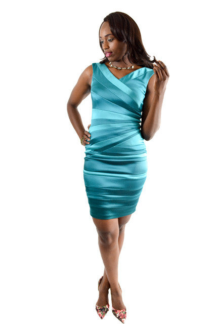 Blue One Shoulder Semi-Formal Dress by Jax, Size 8