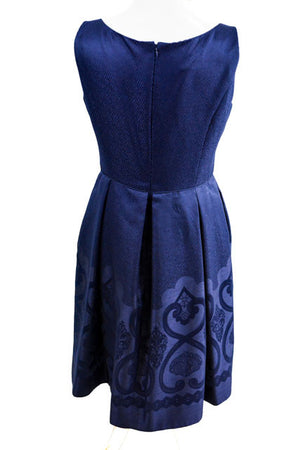Blue Sleeveless Formal Dress by Maggy London, Size 12
