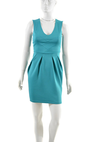 Blue Sleeveless Semi-Formal Dress by Dorothy Perkins, Size 4