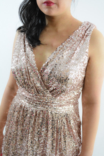 For sale:Gold Sleeveless Formal Dress by Badgley Mischka, Size 10