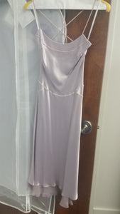 Purple Midi Sleeveless Boat Dress by Vera Wang, Size 2