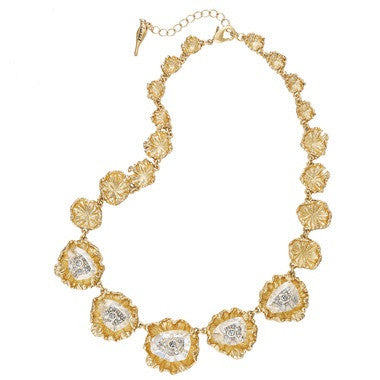 Vintage Gold Collar Necklace