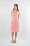 RETURNED TO LENDER ON 6/29/18. Pink Strapless Day Dress by Lilly Pulitzer, Size 0