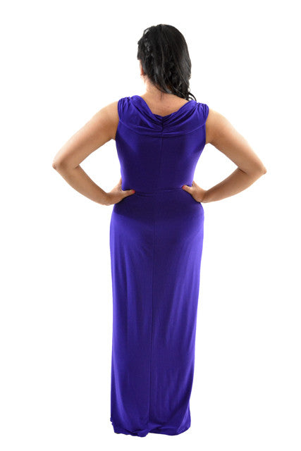 RETURNED TO LENDER ON 7/23/18.Purple Sleeveless Formal Dress by Ralph Lauren, Size 10
