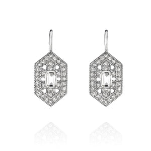 Art Deco Drop Earrings by Chloe and Isabel $32