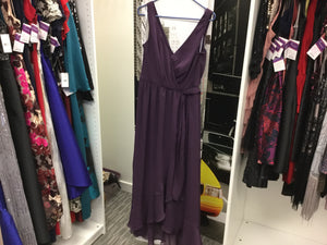 David's Bridal, Purple size 10, Jessica Summers, May 2019, RENT $89
