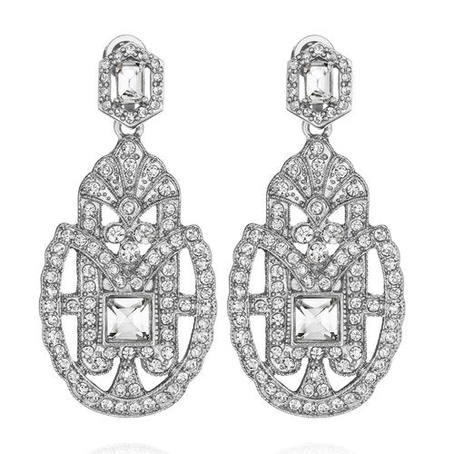Art Deco Convertible Statement Earrings $58