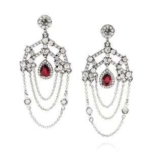 Ethereal Chandelier Statement Earrings $48