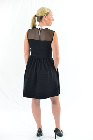 FOR SALE Black Sleeveless Semi-Formal Dress by Betsey Johnson, Size 6