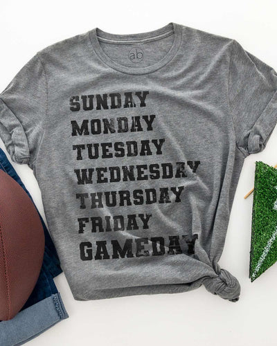 (Game)Days of the Week - tee