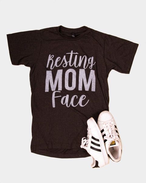 Resting Mom Face - tee