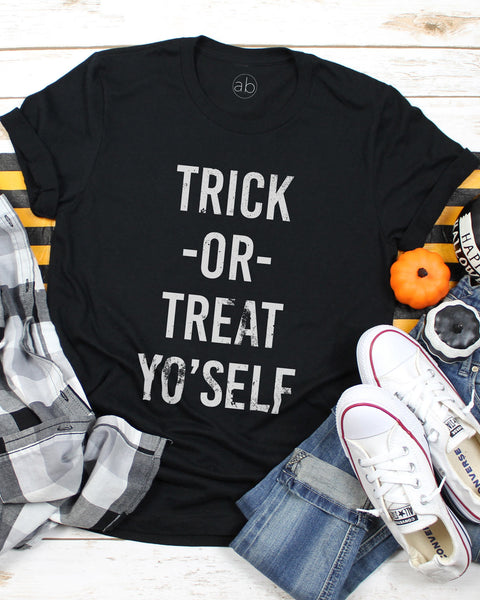 Trick-Or-Treat Yo'Self - Tee