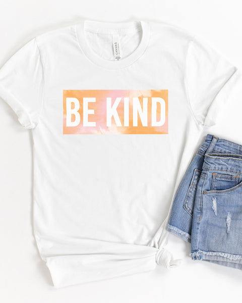 Be Kind (Tie Dye) - Tee