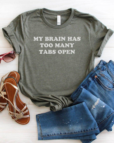 Too Many Tabs Open - Tee