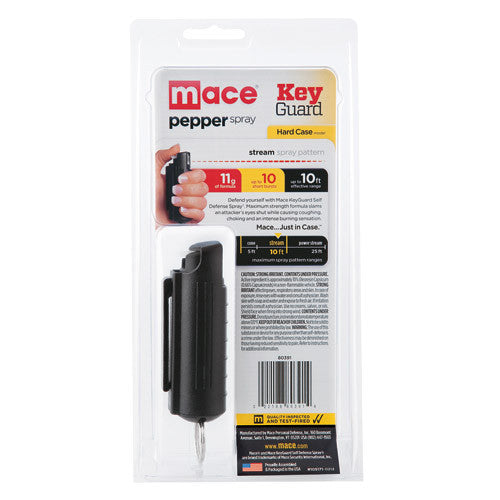 Mace Pepper Spray Hard Case - Crime Guardian