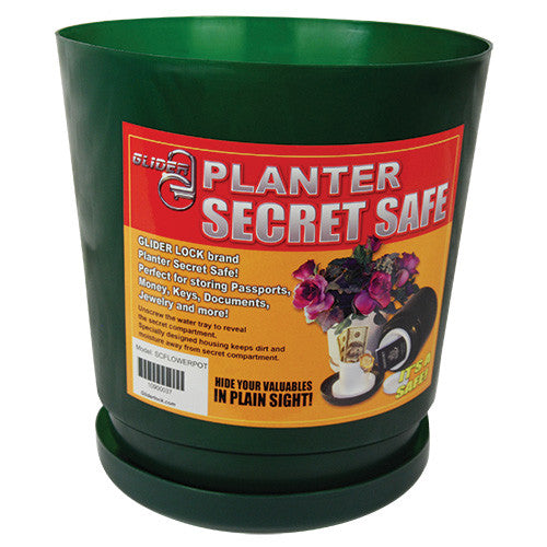 Flower Pot Diversion Safe - Crime Guardian