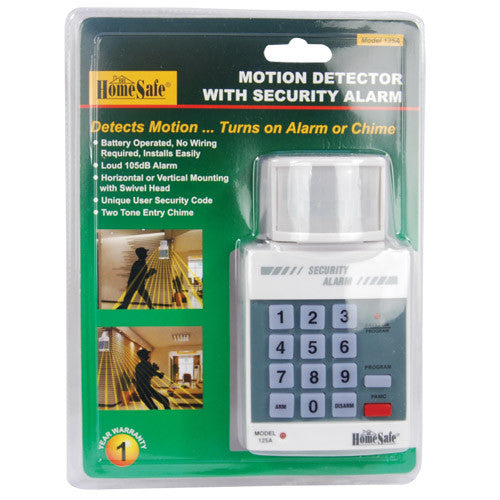 Motion Alert Security Alarm - Crime Guardian