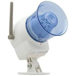 HomeSafe Wireless Outdoor Siren and Light - Crime Guardian