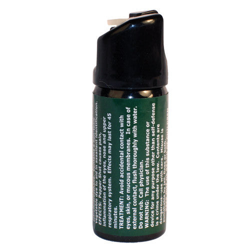 Pepper Shot 2oz Pepper Spray - Crime Guardian
