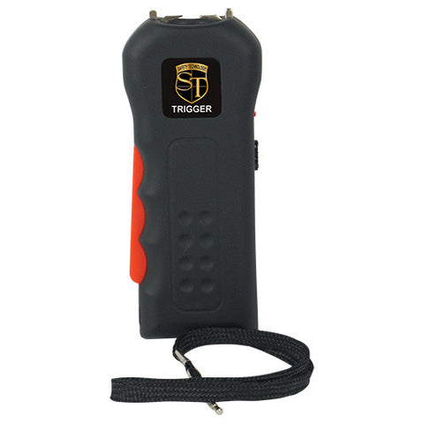 Trigger 18 mil volt Stun Gun Flashlight - Crime Guardian