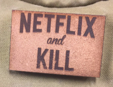Netflix and Kill Leather Patch