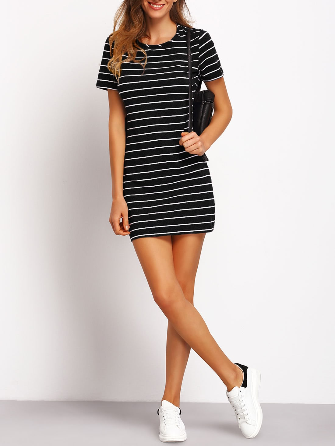 Fitted Tee Dress