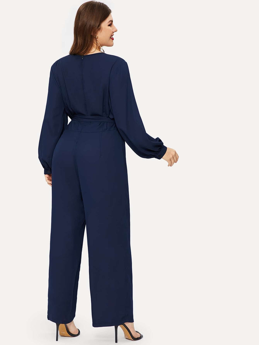 Self Tie Jumpsuit