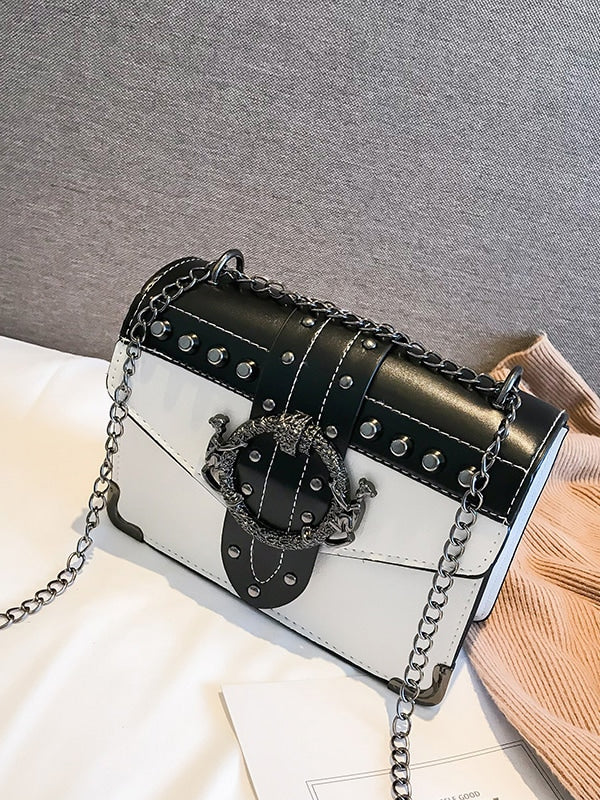 Buckle Chain Bag