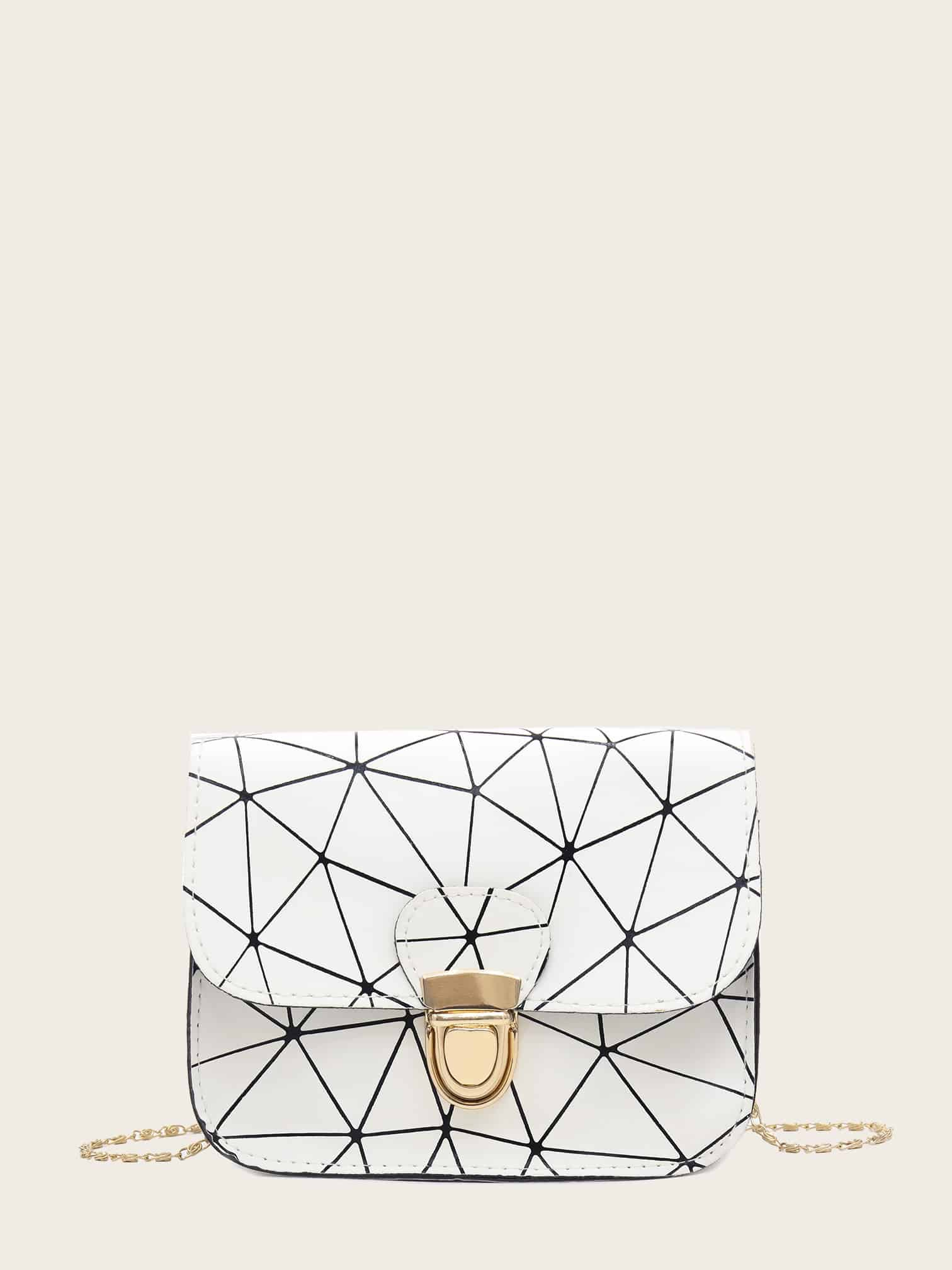 Geometric Chain Bag