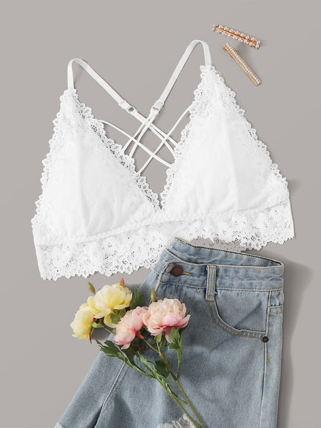 Criss Cross Back Bralette