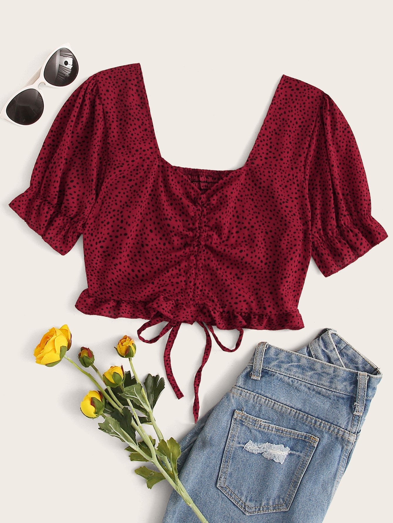 Sweetheart Crop Top