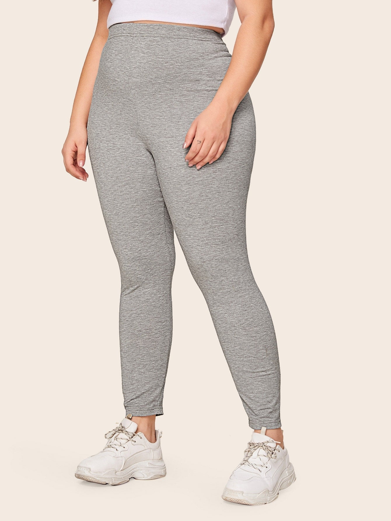 Heather Grey Legging