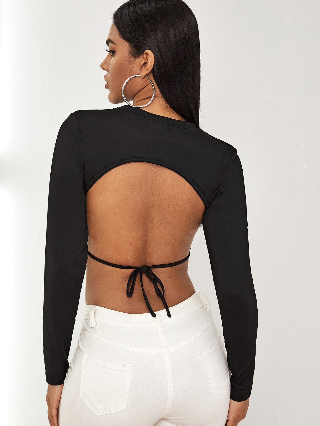 Backless Crop