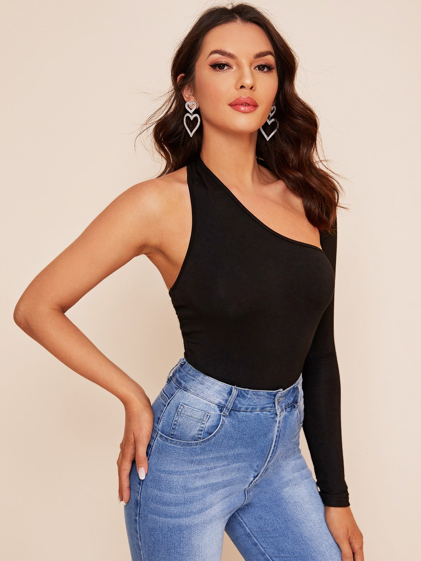 Cardi One Shoulder