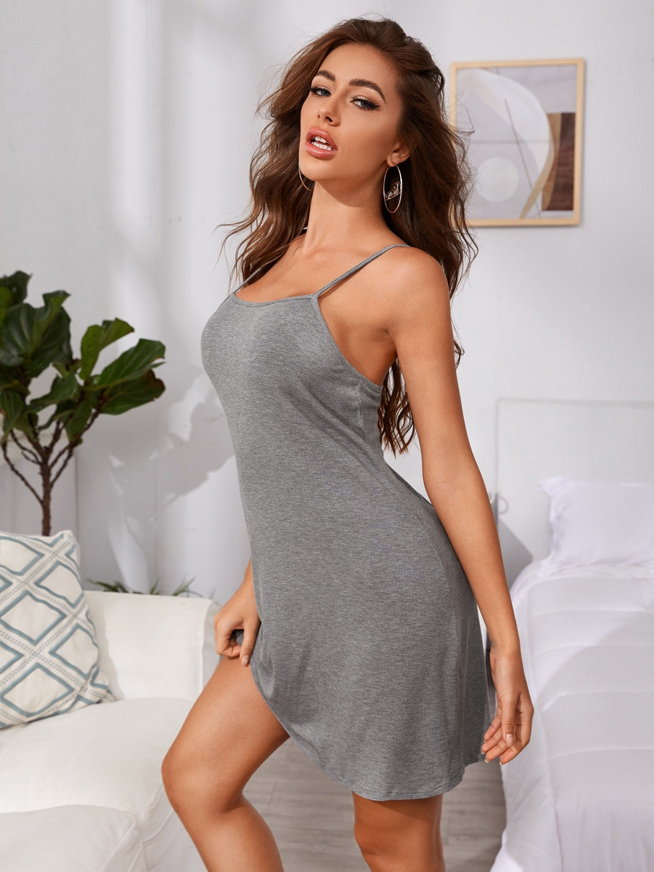 Grey Nightie