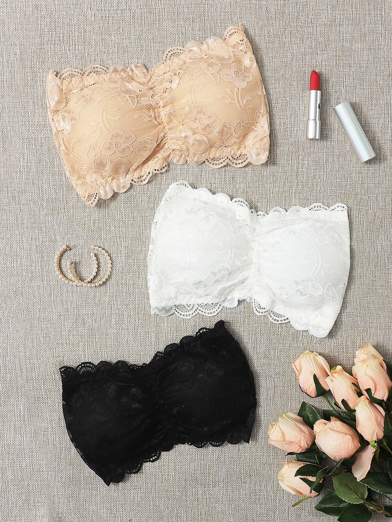 Bandeau Three Pack