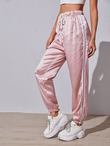 Athletic Satin Pant