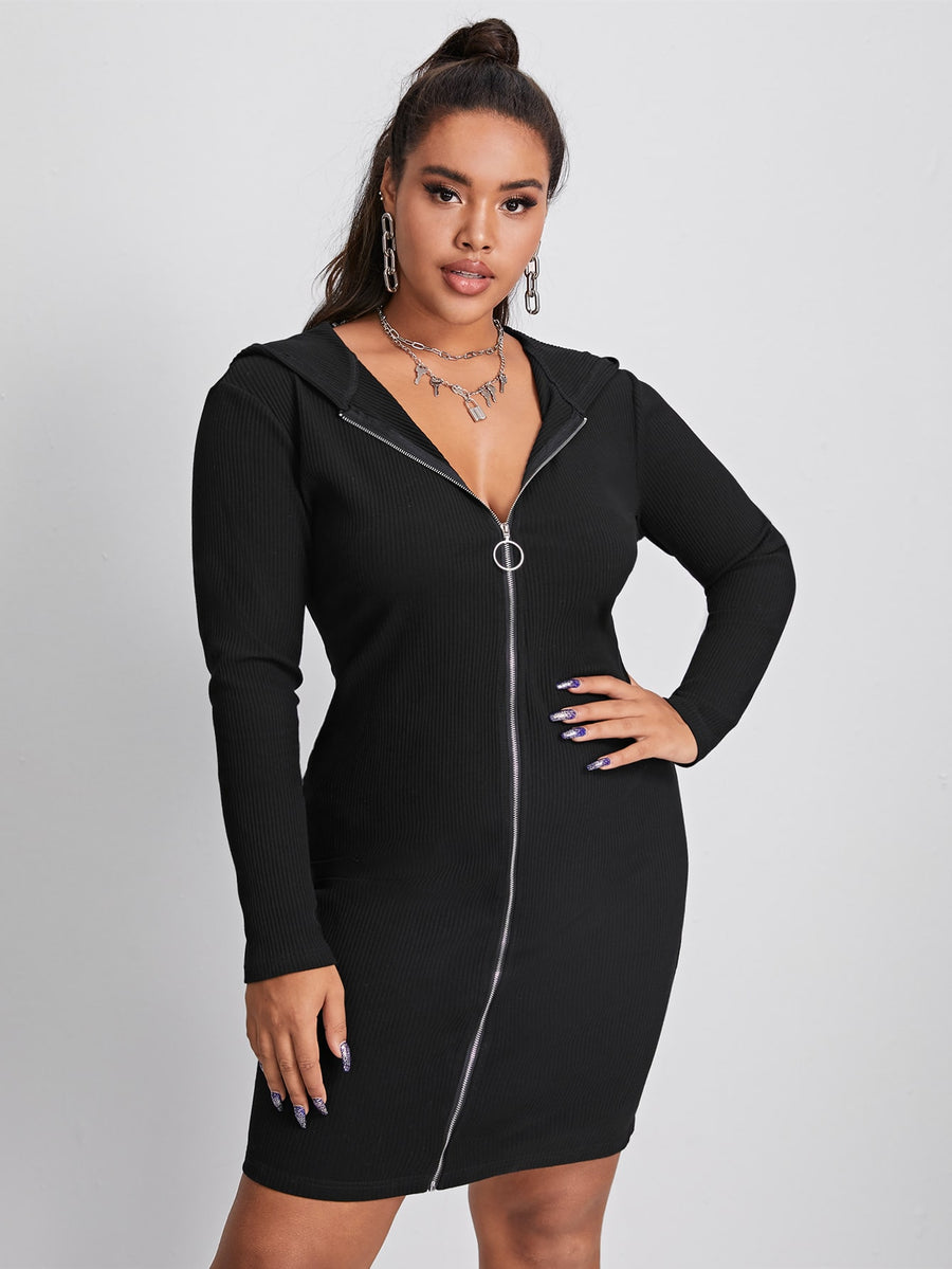 Zipper Fly Dress