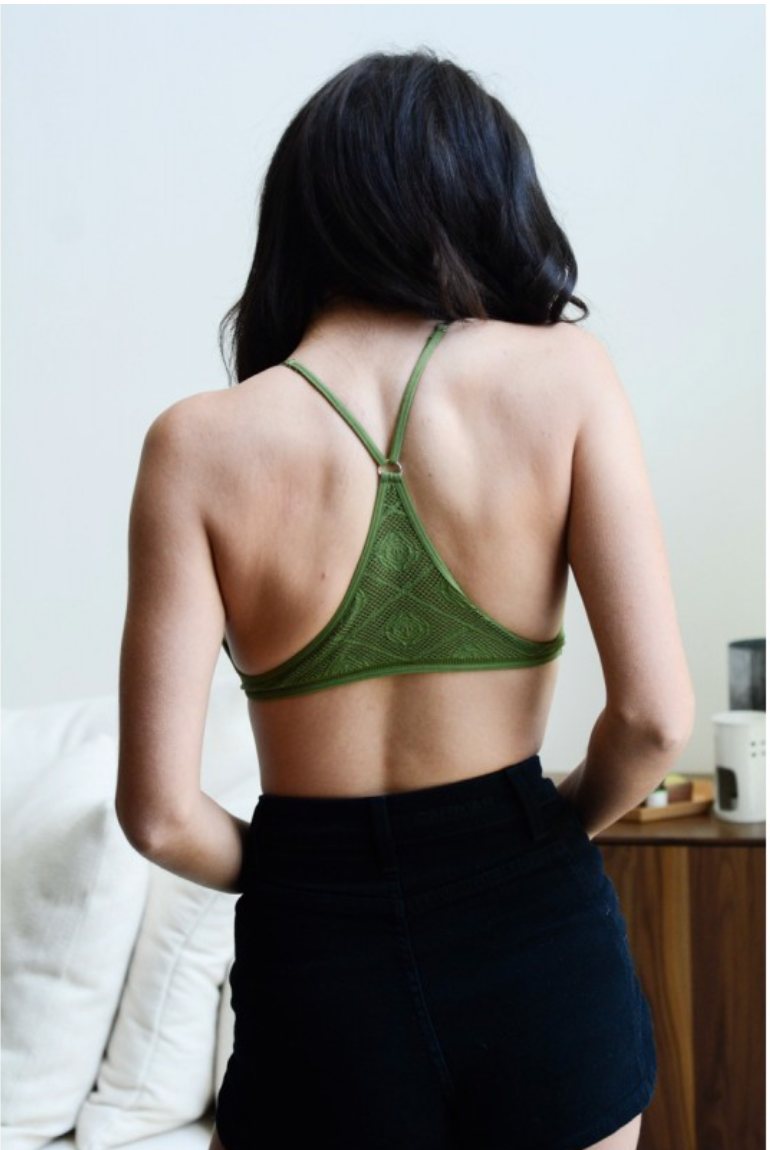 Seamless Y-Back Bralette